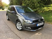 2011 VOLKSWAGEN POLO 1.4 MATCH DSG 5d AUTO 83 BHP PLEASE CALL TO VIEW £7250.00