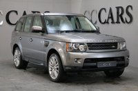 USED 2010 60 LAND ROVER RANGE ROVER SPORT 3.0 TDV6 HSE 5d AUTO 245 BHP 1 OWNER FULL IVORY LEATHER