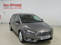 USED 2017 66 FORD FOCUS 1.5 TITANIUM TDCI 5d 118 BHP with Appearance Pack