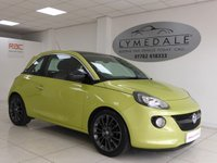 USED 2014 64 VAUXHALL ADAM 1.2 GLAM 3d 69 BHP Fabulous Looking Excellent Spec Full Dealer History