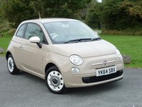 USED 2014 64 FIAT 500 1.2 COLOUR THERAPY 3d 69 BHP WITH 1 YEAR FREE AA MEMBERSHIP**