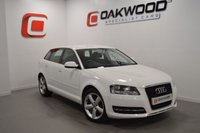 USED 2011 61 AUDI A3 1.6 SPORTBACK MPI TECHNIK 5d 101 BHP  1 OWNER FROM NEW
