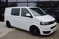 USED 2012 12 VOLKSWAGEN TRANSPORTER CAMPER CONVERSION 2.0 T28 TDI  NO VAT TO BE ADDED!!!!