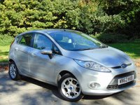 USED 2012 62 FORD FIESTA 1.2 ZETEC 5d 81 BHP * 128 POINT AA INSPECTED *
