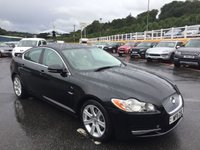 USED 2011 11 JAGUAR XF 3.0 V6 LUXURY 4d AUTO 240 BHP Cream leather, reversing camera & more. Only 52,000 miles FJSH