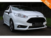 USED 2014 64 FORD FIESTA 1.6 ST-2 3d 180 BHP A STUNNING ST FIESTA WITH LOW OWNER, FULL HISTORY AND AN EXCELLENT SPEC!!!