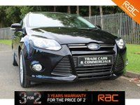 USED 2012 12 FORD FOCUS 1.6 ZETEC 5d 104 BHP A CLEAN FOCUS WITH A GOOD SPEC AND A FULL FORD SERVICE HISTORY!!!