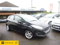 USED 2015 15 FORD FIESTA 1.6 ZETEC 5d 104 BHP NEED FINANCE? WE STRIVE FOR 94% ACCEPTANCE