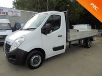 USED 2014 14 VAUXHALL MOVANO Dropsode 12ft Alloy Body 2.3 CDTi 125 BHP 6 Speed F3500 LWB*AIR CON*
