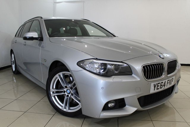 View our 2014 64 BMW 5 SERIES 2.0 520D M SPORT TOURING 5DR AUTOMATIC 188 BHP