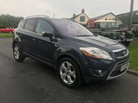 2009 FORD KUGA 2.0 TITANIUM TDCI AWD fsh very claen example comes fullyserviced with full mot  £6595.00