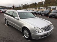 USED 2004 04 MERCEDES-BENZ E CLASS 2.7 E270 CDI ELEGANCE 5d 177 BHP Black leather, climate A/C, serviced before sale with history