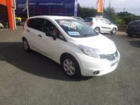 2015 NISSAN NOTE 1.5 DCI VISIA 5d 90 BHP £7950.00