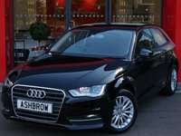USED 2015 65 AUDI A3 1.6 TDI SE TECHNIK 3d 110 S/S SAT NAV, DAB RADIO, BLUETOOTH PHONE & MUSIC STREAMING, REAR PARKING SENSORS, CRUISE CONTROL, AUDI MUSIC INTERFACE FOR IPOD/USB DEVICES (AMI), AIR CONDITIONING, FRONT CENTRE ARM REST, LEATHER MULTIFUNCTION STEERING WHEEL, 1 OWNER FROM NEW, FULL SERVICE HISTORY, BALANCE OF MANUFACTURERS WARRANTY, £0 ROAD TAX (99 G/KM), VAT QUALIFYING