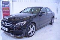 2014 MERCEDES-BENZ C CLASS 2.1 C250 BLUETEC AMG LINE 4d AUTO 204 BHP £20995.00