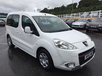 USED 2011 61 PEUGEOT PARTNER 1.6 TEPEE S E-HDI 5d AUTO 92 BHP Diesel automatic MPV with twin sliding doors