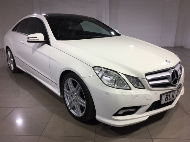 View our 2011 11 MERCEDES-BENZ E CLASS 2.1 E250 CDI BLUEEFFICIENCY S/S SPORT 2d AUTO 204 BHP