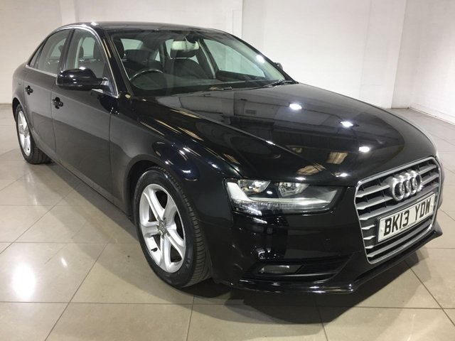 View our 2013 13 AUDI A4 2.0 TDI SE 4d 134 BHP
