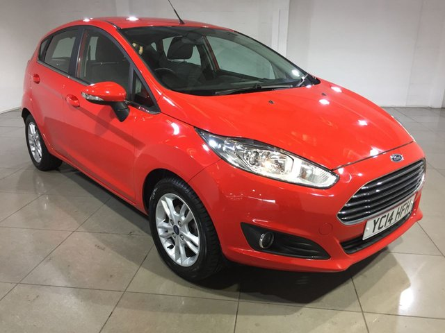 View our 2014 14 FORD FIESTA 1.2 ZETEC 5d 81 BHP