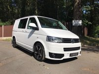 USED 2015 15 VOLKSWAGEN TRANSPORTER T32/180 TDI KOMBI HIGHLINE AUTO DSG SPORTLINE STYLING Automatic, Sportline Styling, Full Leather
