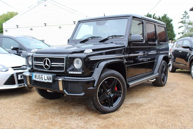 View our 2016 66 MERCEDES-BENZ G-CLASS 5.5 AMG G 63 4MATIC 5d AUTO 563 BHP