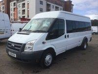 2010 FORD TRANSIT BUS LWB TRANSIT MINIBUS 17 SEATER £7900.00