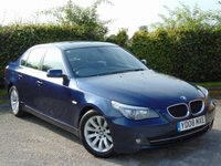 USED 2008 08 BMW 5 SERIES 2.0 520D SE 4d * FULL SERVICE HISTORY * BUILT IN BLUETOOTH HANDS FREE *