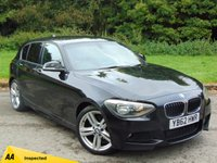 USED 2013 BMW 1 SERIES 2.0 118D M SPORT 5d 141 BHP FULL AA INSPECTION