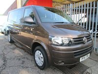 2015 VOLKSWAGEN TRANSPORTER T32 LWB TRENDLINE 6 SEAT KOMBI 140 PS *AIR CON*CRUISE* £SOLD