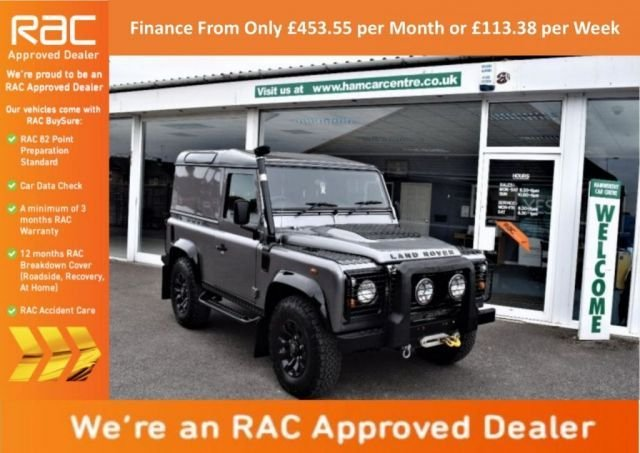 2007 07 LAND ROVER DEFENDER 2.4 90 COUNTY HARD TOP 1d 122 BHP