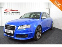 USED 2007 57 AUDI RS4 4.2 RS4 QUATTRO 4d 420 BHP 2 PRIVIOUS OWNER-LOW MILEAGE-HUGE SPEC +++