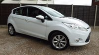 USED 2011 11 FORD FIESTA 1.25 ZETEC 5dr Bluetooth, Alloys
