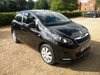 USED 2014 14 PEUGEOT 108 1.0 ACTIVE 5d 68 BHP Touch Screen Radio, Good MPG, Free To Tax £0