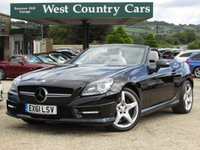 USED 2011 61 MERCEDES-BENZ SLK 3.5 SLK350 BLUEEFFICIENCY AMG SPORT ED125 2d AUTO 306 BHP Excellent Colour Combination And Condition