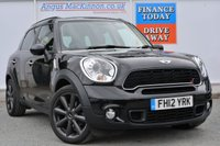 USED 2012 12 MINI COUNTRYMAN 2.0 COOPER SD ALL4 5d 141 BHP BLUETOOTH HANDS FREE