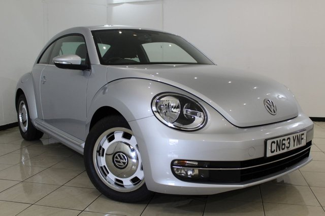 View our 2013 63 VOLKSWAGEN BEETLE 1.4 DESIGN TSI 3DR 158 BHP