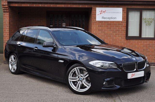 2011 61 BMW 5 SERIES 2.0 525D M SPORT TOURING 5d AUTO 215 BHP
