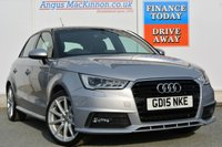 USED 2015 15 AUDI A1 1.6 SPORTBACK TDI S LINE 5d 114 BHP AIR CONDITIONING
