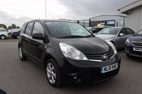 USED 2010 10 NISSAN NOTE 1.4 N-TEC 5d 87 BHP LOW DEPOSIT OR NO DEPOSIT FINANCE AVAILABLE.