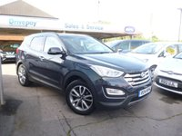 USED 2014 14 HYUNDAI SANTA FE 2.2 PREMIUM CRDI 5d 194 BHP NEED FINANCE? WE STRIVE FOR 94% ACCEPTANCE