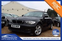 USED 2010 10 BMW 1 SERIES 2.0 118D SE 2d 141 BHP parking aid, convertible & more