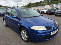 USED 2007 07 RENAULT MEGANE 1.4 EXTREME 16V 5d 100 BHP Bright Arctic Blue, A/C, recently cambelt service