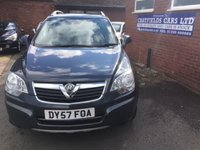 USED 2007 57 VAUXHALL ANTARA 2.0 S CDTI 5d 150 BHP 2 OWNERS, HALF LEATHER