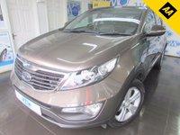 2011 KIA SPORTAGE 1.7 CRDI 2 5d 114 BHP £8695.00