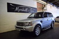 USED 2006 56 LAND ROVER RANGE ROVER SPORT 2.7 TDV6 SPORT SE 5d AUTO 188 BHP STUNNING CAR THROUGHOUT - GREAT SPEC - 8 SERVICE STAMPS TO 76K INC CAMBELT CHANGE AT 48K