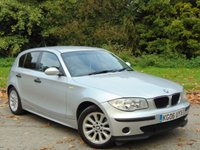 USED 2006 06 BMW 1 SERIES 2.0 118D ES 5d 121 BHP JUST BEEN SERVICED AND 12 MONTHS MOT