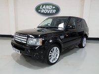 2008 LAND ROVER RANGE ROVER SPORT 2.7 TDV6 SPORT HSE 5d AUTO 188 BHP £10477.00