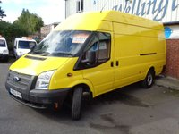 USED 2012 62 FORD TRANSIT 2.2 350 H/R 1d 99 BHP