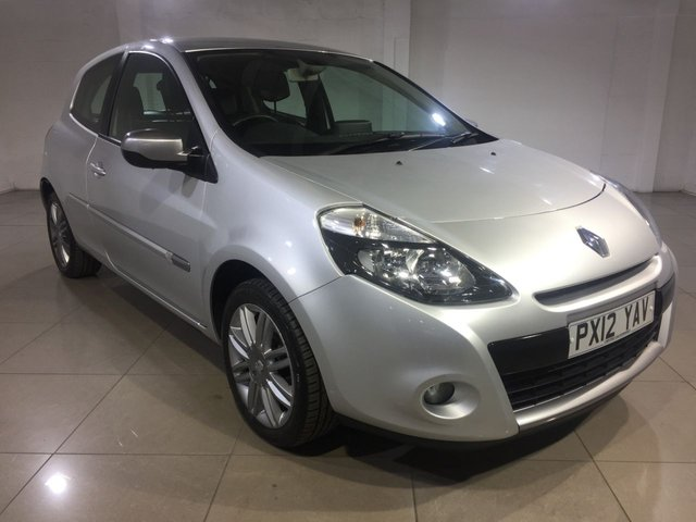 View our 2012 12 RENAULT CLIO 1.1 DYNAMIQUE TOMTOM 16V 3d 75 BHP