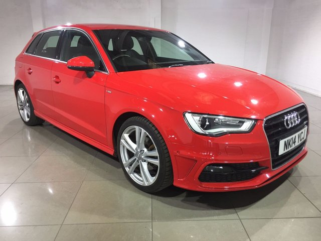 View our 2014 14 AUDI A3 1.6 TDI S LINE 5d 104 BHP